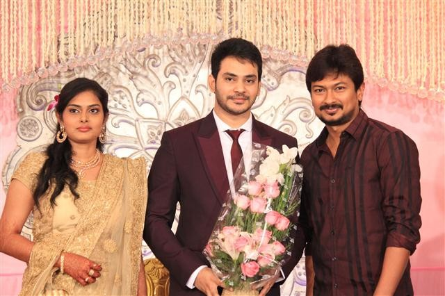 Actor Sethu aka Sethuraman Wedding reception held at Mayor Ramanathan Chettiyar Hall, Raja Annamalaipuram in Chennai.