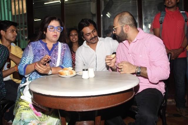 Nimrat kaur,farah khan,Nawazuddin Siddiqui,irani cafes,Irani cafes in mumbai,mumbai and cafes,ritesh batra,poetic license,the lunch box