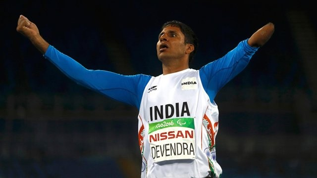 Devendra Jhajharia,Javelin thrower Devendra Jhajharia,Devendra Jhajharia world record,devendra jhajharia paralympics,Devendra Jhajharia wins gold,Rio Paralympics,Paralympics,Paralympics 2016,Javelin throw