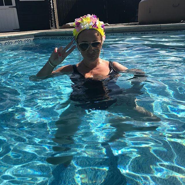 Flashing at the pool