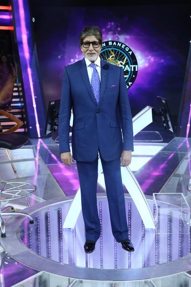 Amitabh Bachchan,actor Amitabh Bachchan,Amitabh Bachchan birthday,KBC 9,Kaun Banega Crorepati,Kaun Banega Crorepati 9