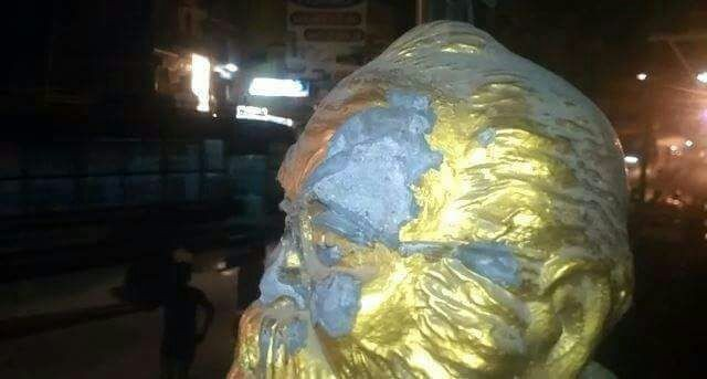 Periyar,Periyar statue,Periyar statue Vandalised,Periyar Vandalised,H Raja,Bjp,BJP leader H Raja