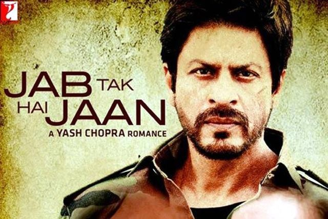 'Jab Tak Hai Jaan' movie poster
