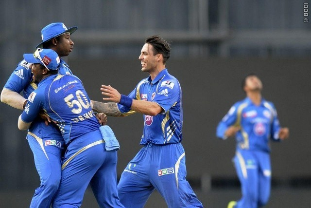Mumbai Indians Johnson Pollard