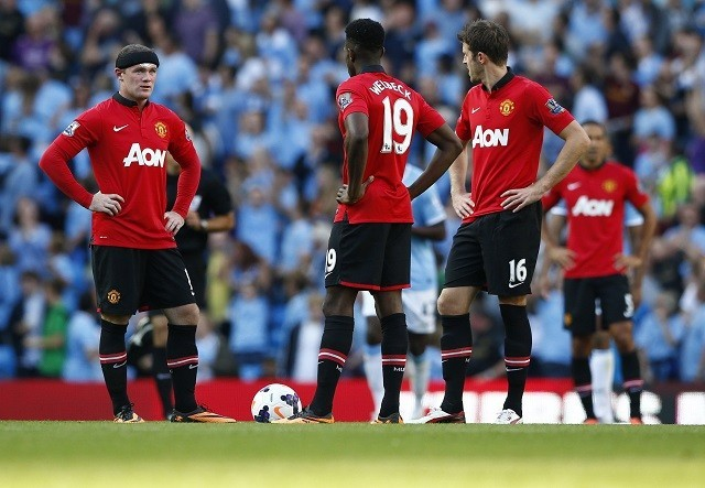 Rooney Carrick Welbeck Manchester United