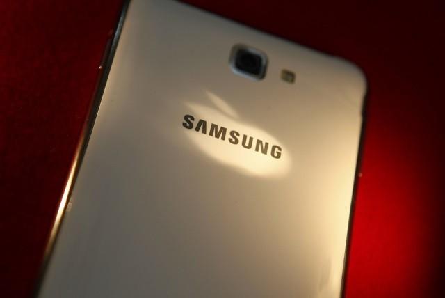 Samsung Galaxy Note smartphone in Beijing, 2013.