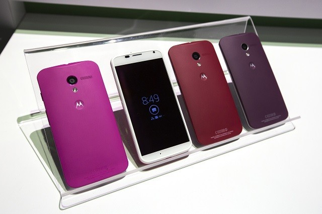 Moto X at the Launch Event in New York