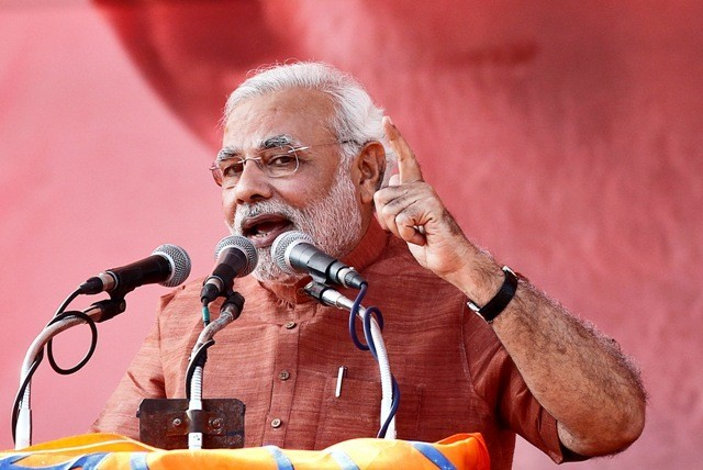 Narandra Modi has finally confessed that he is married to 'Jashodaben' causing a spate of outrage in social media. (Photo: Reuters)