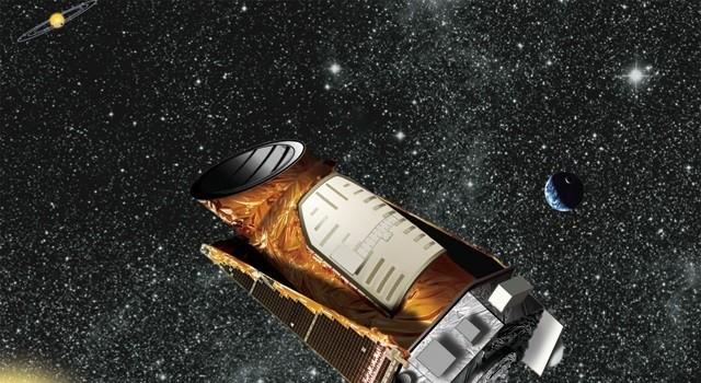 Artist's concept of NASA's Kepler space telescope. Image credit: NASA/JPL-Caltech