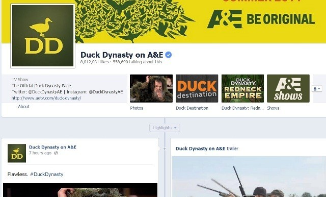 'Duck Dynasty' Star Lisa Cheated on her Pastor Husband Alan Robertson; Blames Childhood Molestation (Duck Dynasty Facebook Screengrab)
