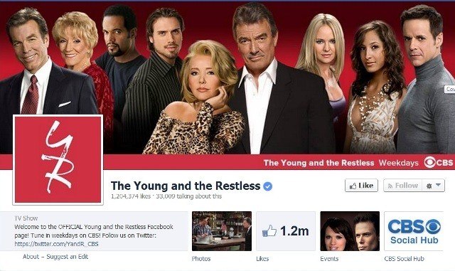 The Young And The Restless (Facebook Screen Grab)