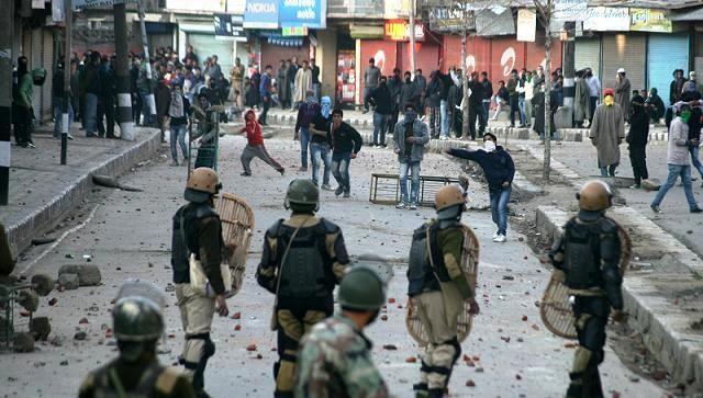 Riots are common in Kashmir (file photo)