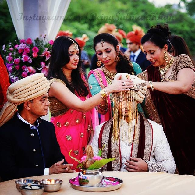 Aayush Sharma Getting Ready