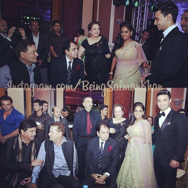 Celebrities at Arpita Khan's Wedding Reception
