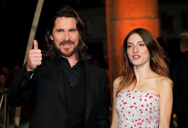 Christian Bale and Maria Valverde
