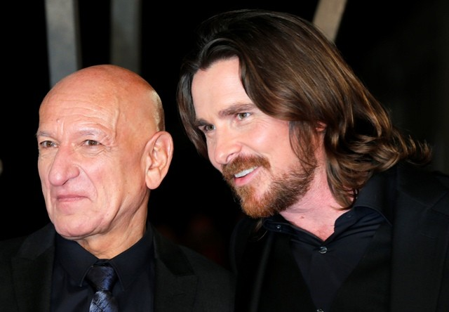 Ben Kingsley and Christian Bale