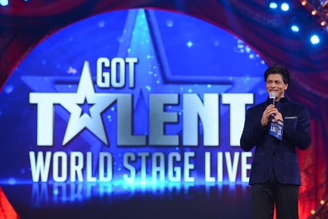 Shah Rukh Khan hosting Got Talent