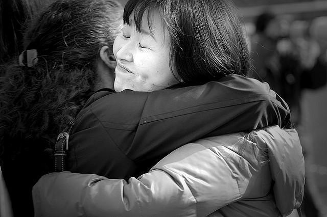 hug, hugging