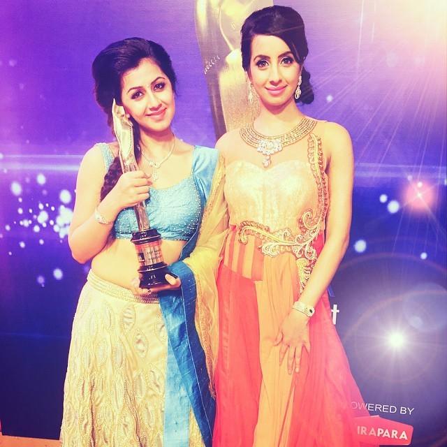 Nikki Gilrani and Sanjjanaa Gilrani