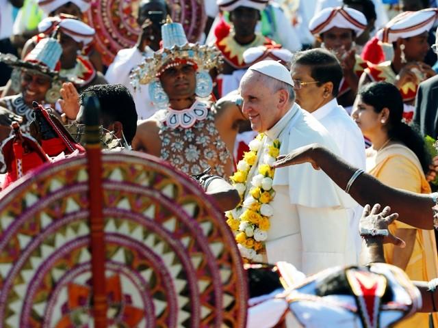 Pope Francis in Sri Lanka
