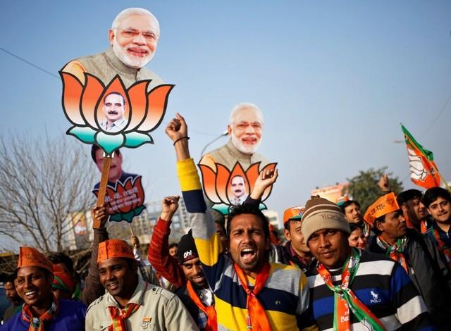 Delhi Elections 2015 BJP Campaign