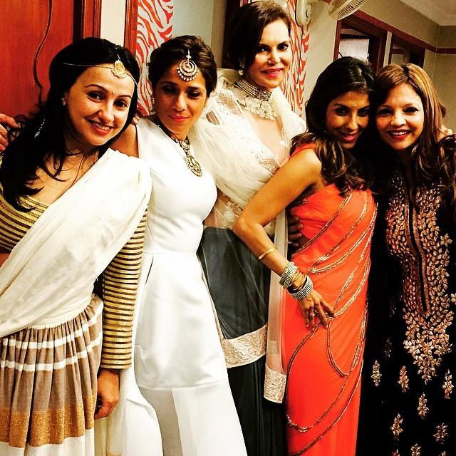 Celebs Attend Hinduja Wedding