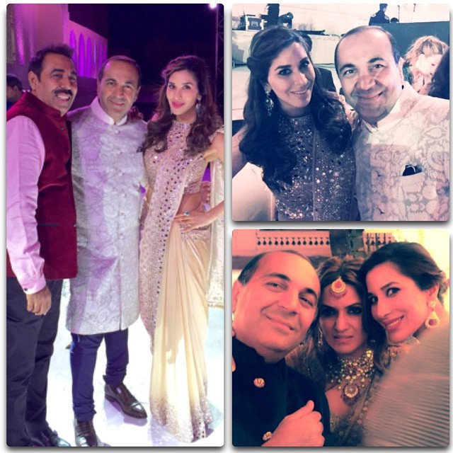 Celebs attend Sajay Hinduja-Anu Mahtani Wedding