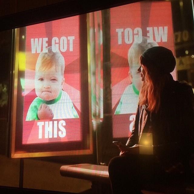 Success Kid in Coke Ad