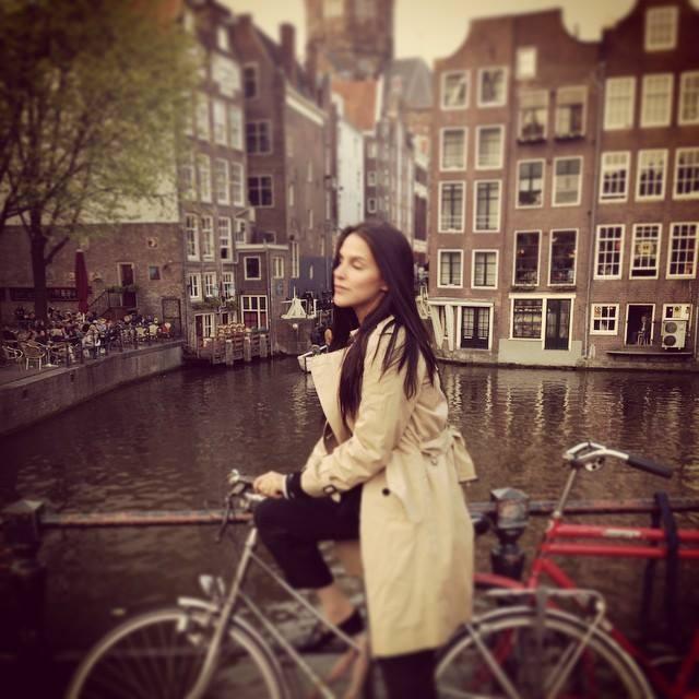 Neha Dhupia in Amsterdam