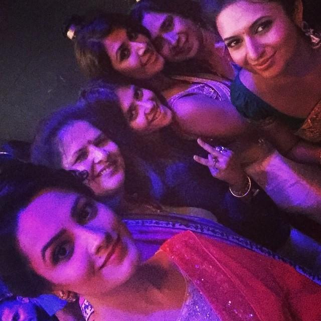 Anita Hassanandani, Ekta Kapoor, Ankita Bhargava, Divyanka Tripathi