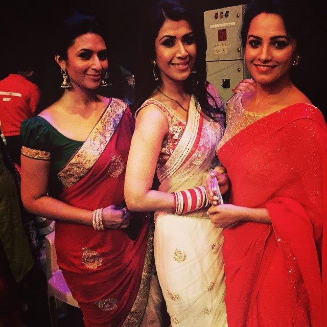 Divyanka Tripathi, Ankita Bhargava and Anita Hassanandani