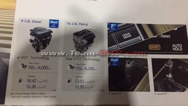 Hyundai Tucson brochures leaked