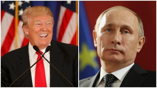 Donald Trump-Vladimir Putin