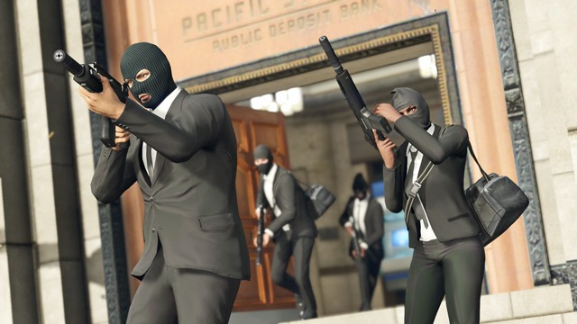 GTA 5 Online: Funny Police Mask and Invisible Glitch, Guide to
