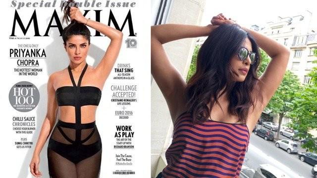 Picture of Priyanka Chopra flaunting underarm went viral