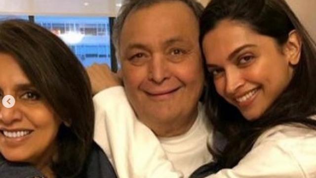 Deepika Padukone meets Rishi Kapoor and Neetu Kapoor in NYC