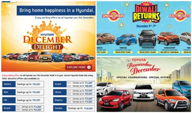 Year End Car Bargains: Hyundai, Ford and Toyota Target Buyers with Whopping Discounts up to ₹1.5 Lakh