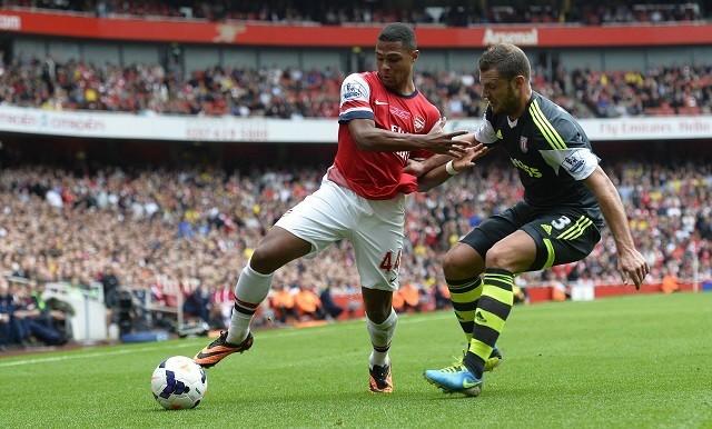 Gnabry Arsenal Pieters Stoke