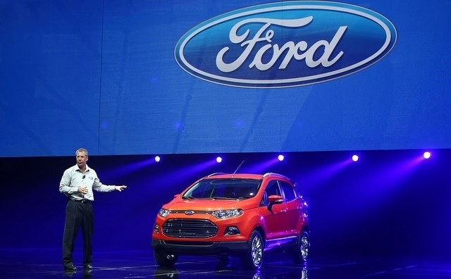 Ford EcoSport Shows off At Geneva Motor Show