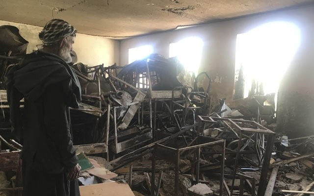 Attacks on Schools in Afghanistan tripled says report