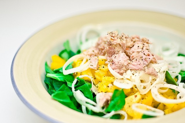 Healthy Meal, Tuna salad