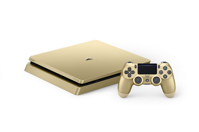 Sony Play Station 4 Slim Limited Edition Gold