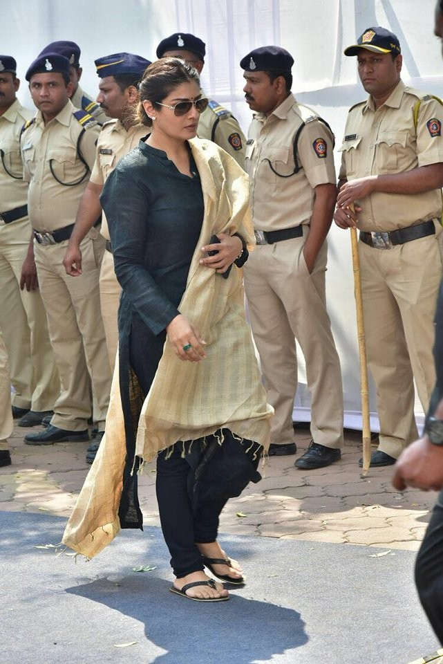 Sanjay Leela Bhansali,Raveena Tandon,Rekha,Malaika Arora,Sridevi funeral,Sridevi funeral pics,Sridevi funeral images,celebs at Sridevi funeral,Sridevi