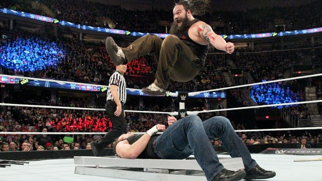WWE TLC: Dean Ambrose-Bray Wyatt Put up a Brave Show