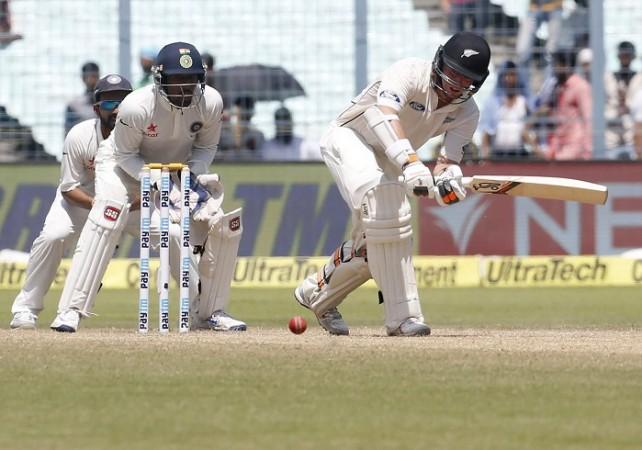 Tom Latham New Zealand India