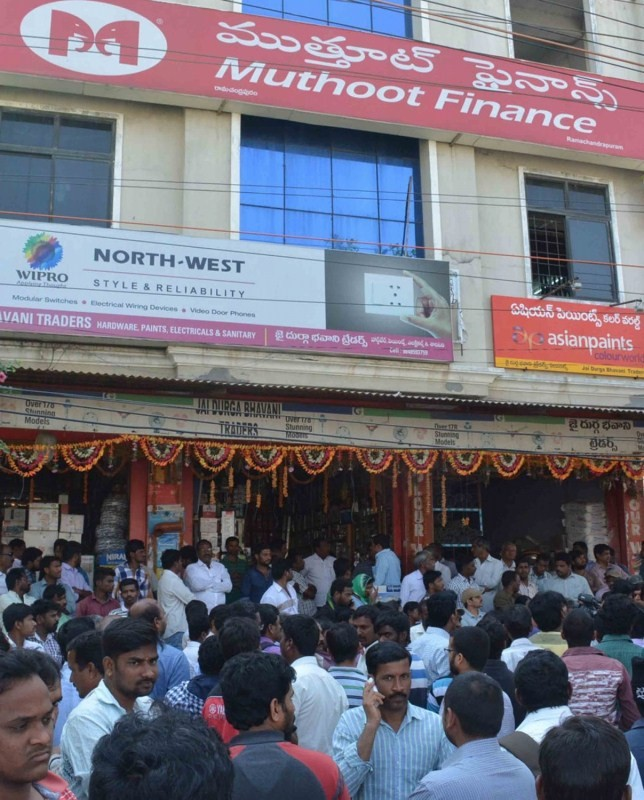 Muthoot Finance,Muthoot Finance branch,Muthoot Finance in Hyderabad,40 kg gold