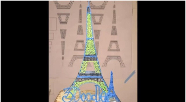 World's First 3D Pen 3Doodler Lets You Doodle in the Air