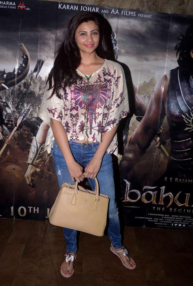 Daisy Shah at Baahubali Special Screening