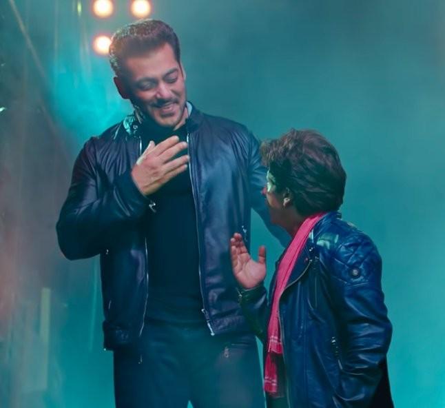 Shah Rukh Khan,Shah Rukh Khan and Salman Khan,Salman Khan,ZERO teaser,shah rukh zero teaser,Eid al-Fitr,Zero,Race 3