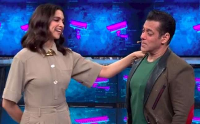 Deepika Padukone on Salman Khan's Bigg Boss 13